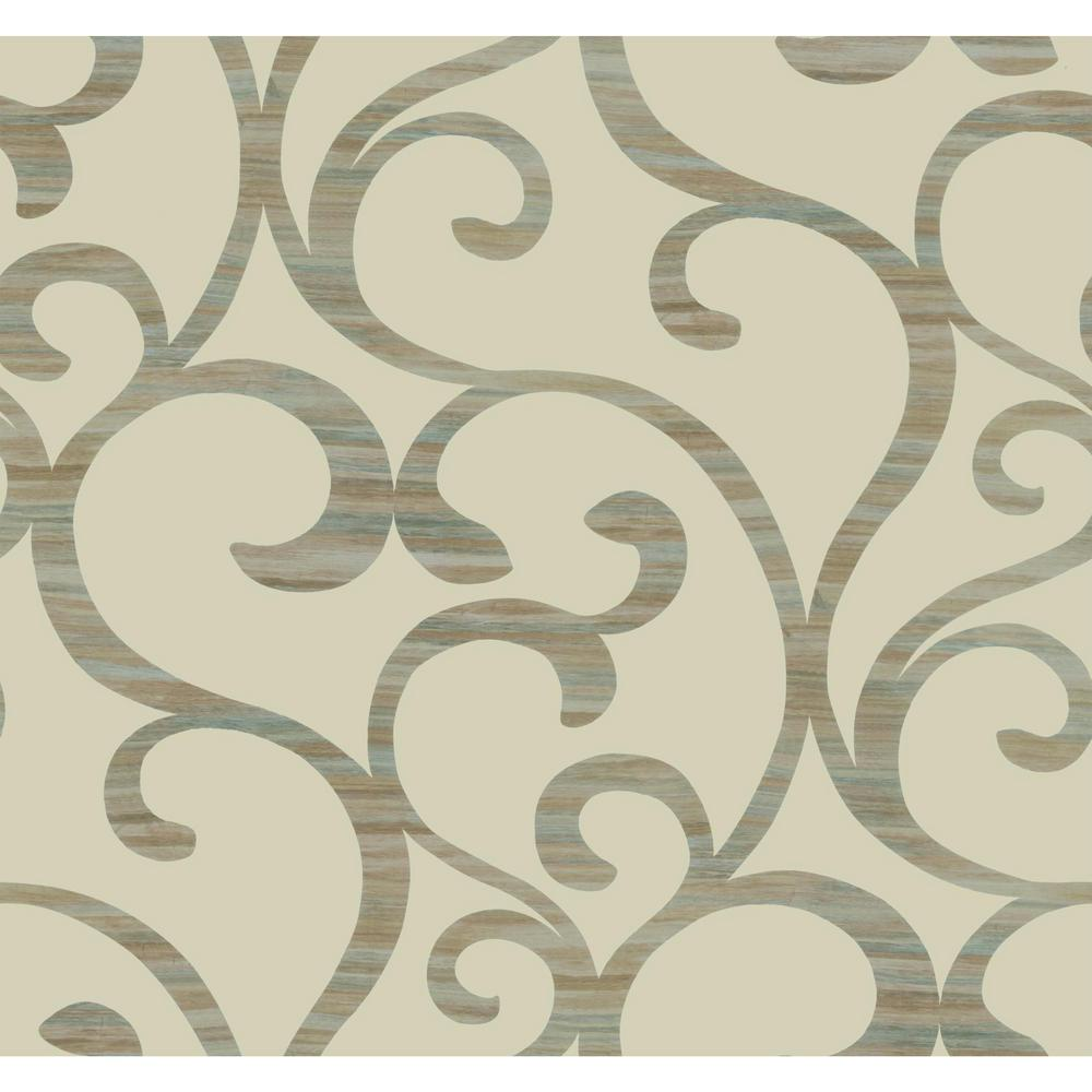 York Wallcoverings Dazzling Dimensions Dazzling Coil Paper Strippable Roll Wallpaper (Covers 60.75 sq. ft.)-Y6200301 - The Home Depot