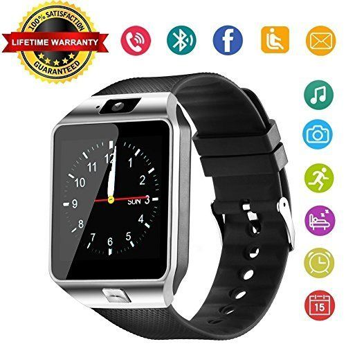 613cb1319d4 DZ09 Bluetooth Smart Watch - WJPILIS Smart Wrist Watch Smartwatch Phone  Fitness Tracker SIM Card Slot