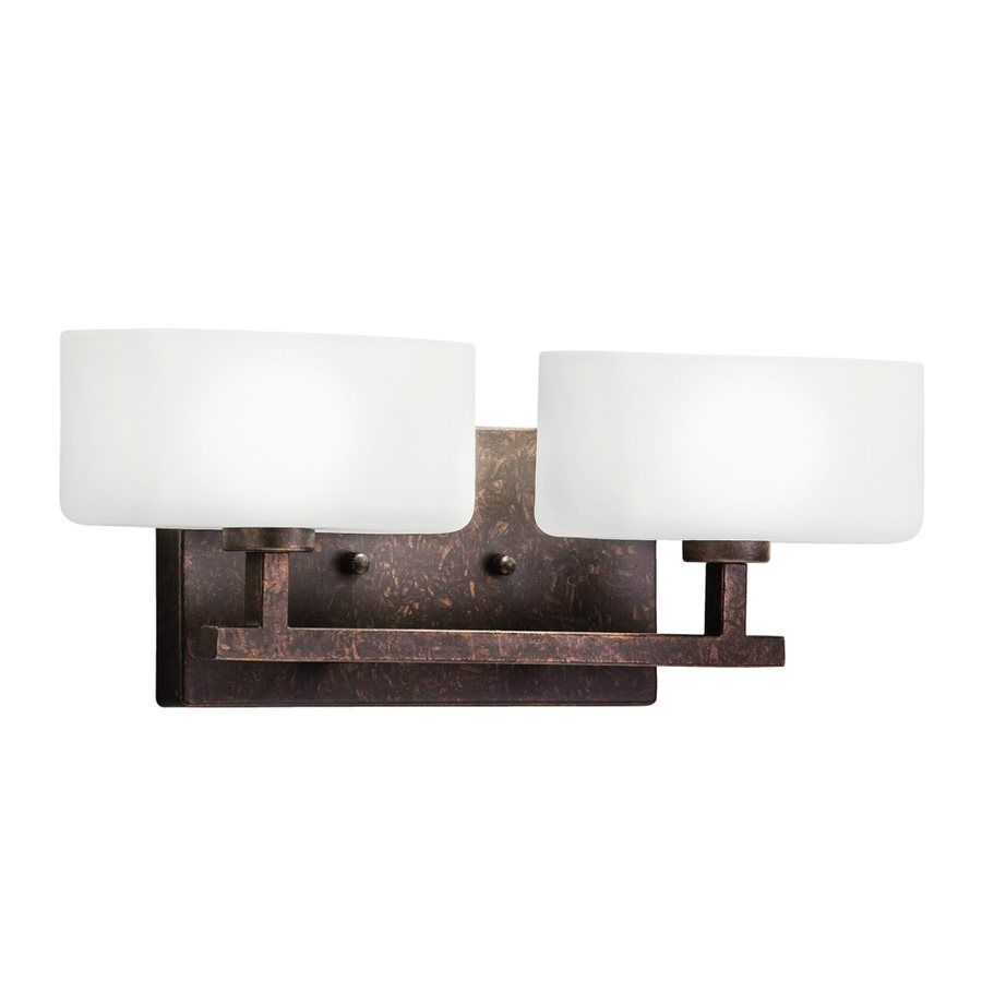 Westwood Collection 2-Light Tannery Bronze Bathroom Vanity ...