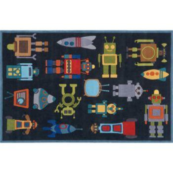 Momeni Lil Mo Whimsy Robot Rug   3u0027 ...