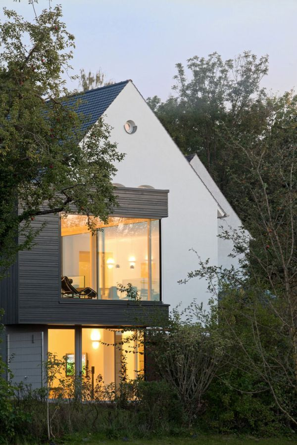 German House Designs: Traditional German Home Acquires A Sparkling Modern