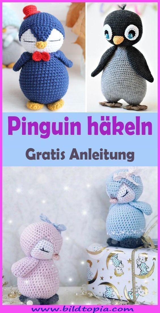Photo of Häkeln Sie Pinguin – kostenlose und einfache Anleitung: – Wintergarten Ideen
