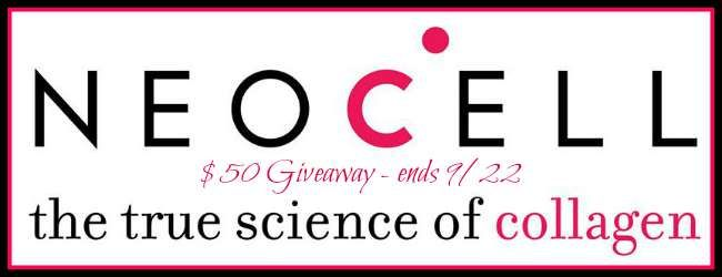 NeoCell $50 Gift Certificate GIVEAWAY I have a fun giveaway for you guys today. Have you heard of NeoCell? Well, NeoCell is the #1 collagen brand in the wo