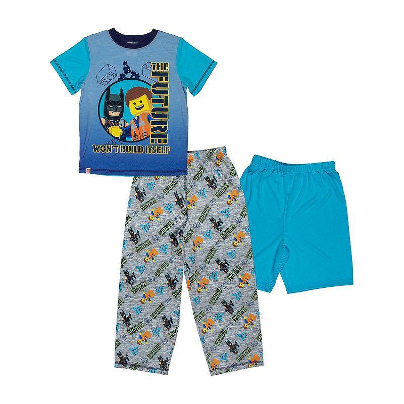 36240f370a Lego Movie 2 3-pc Pajama Set Boys in 2019 | Products | Pajama shorts ...