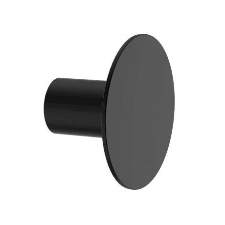 Clark Round Wall Hook Matte Black Bathware Direct Wall Hooks