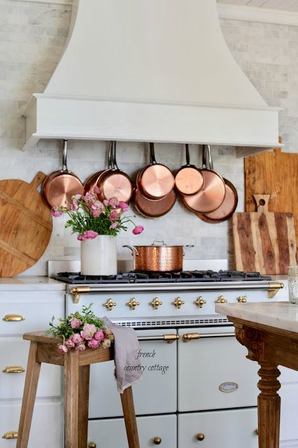 Photo of The little kitchen that could – French Country Cottage