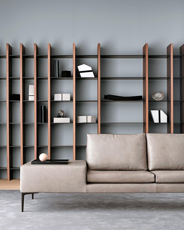 Librerie in rassegna foto 1 livingcorriere bookshelves for Immagini librerie d arredamento