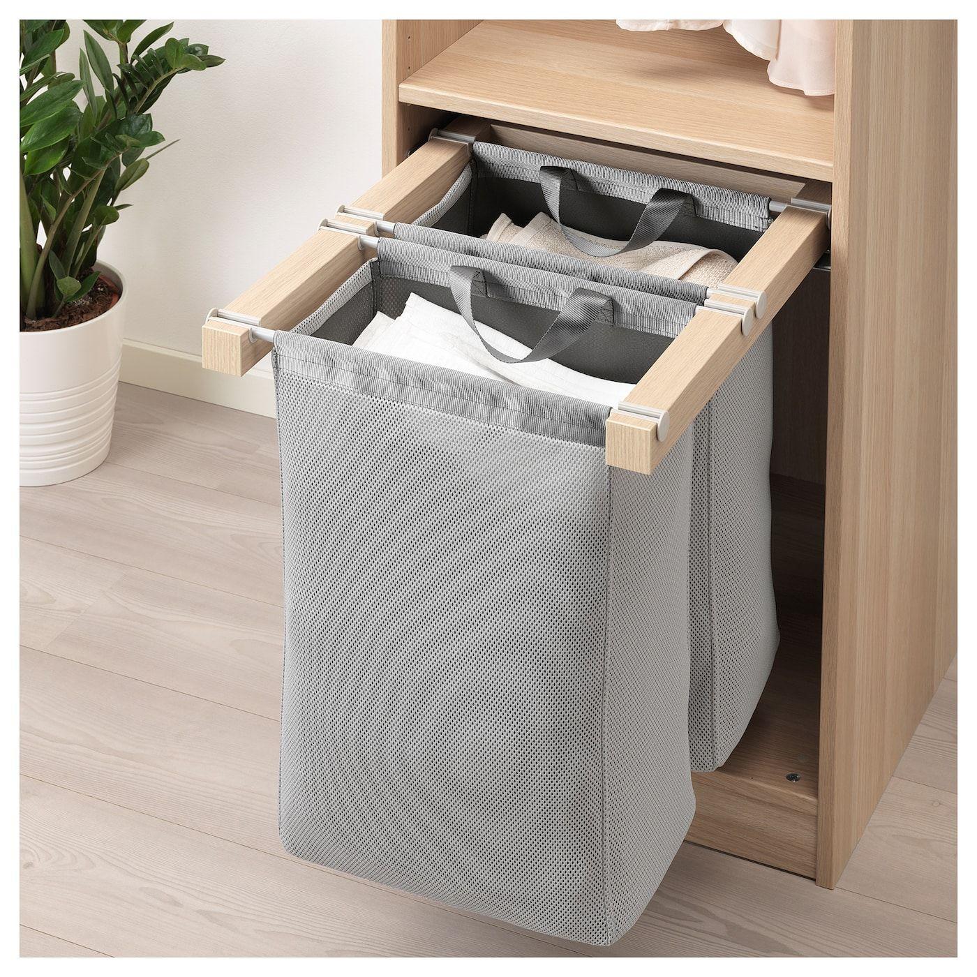Ikea Komplement Uttrekkbar Oppbevaring Canasto Para Ropa Cestas De Ropa Mueble Para Lavadero