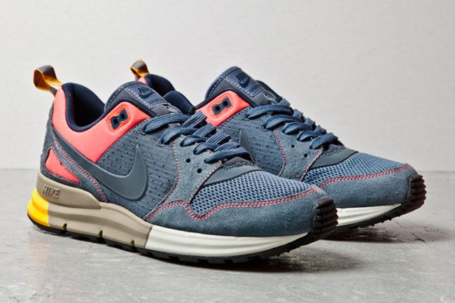 NIKE LUNAR PEGASUS 89 (NAVY PINK/ORANGE