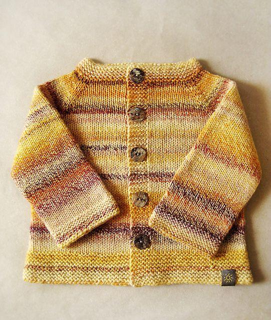 Ravelry: natalja's Top Down Raglan Baby Sweater   Knitted ...