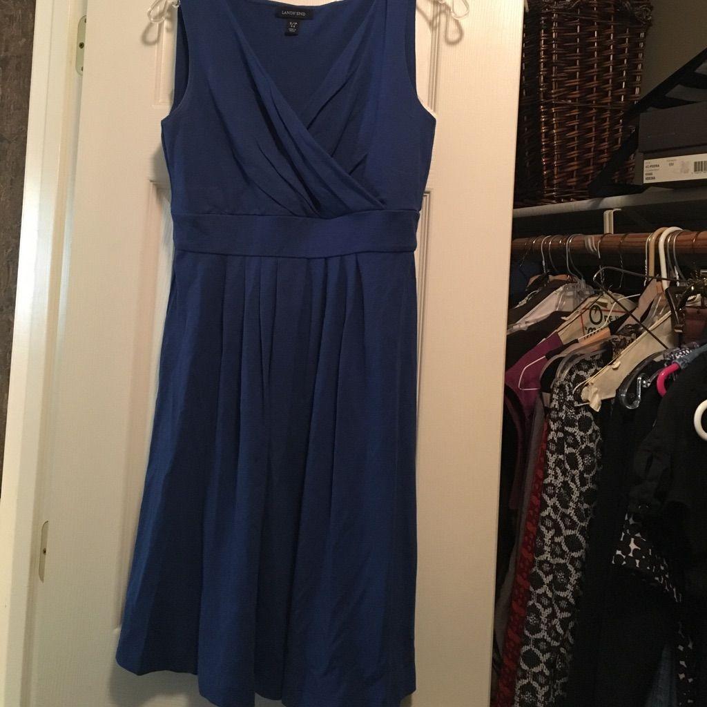 Lands End Cotton Dress
