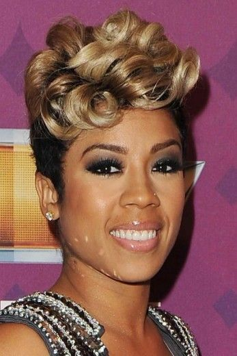 keyshia cole short hair - google