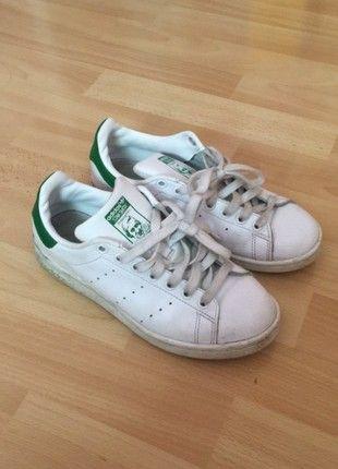 Basket adidas stan smith blanche et Idée verte   Idée et fringues   51a955
