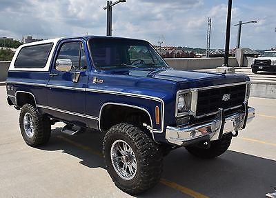 1977 Chevrolet Blazer Trucks Gmc Trucks Chevrolet Blazer