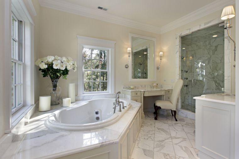 Baño principal en hogar de lujo baños Pinterest Hogar, Lujo y Baño - baos de lujo