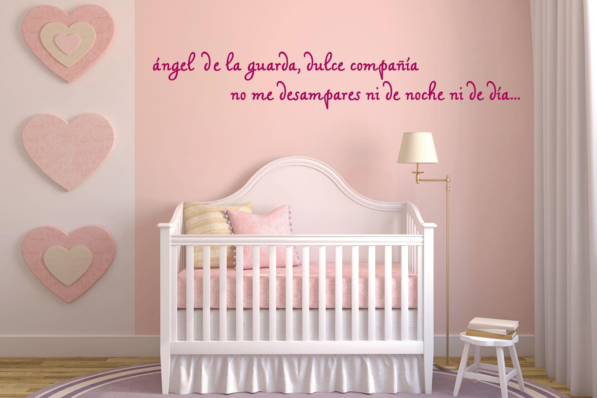 Frase del ángel de la guarda en vinilo para decorar tus paredes ...