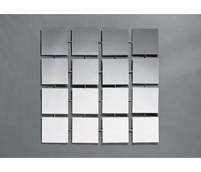6 sample of mirror arrangement and reveal mirror square wall tiles mirror wall