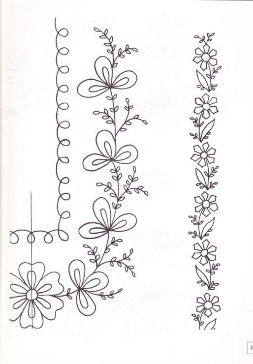 Dibujos para bordar Draws for embroider | bordados y muestras ...