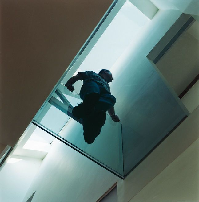 The Glass Walkway Photo By Peter Marlow