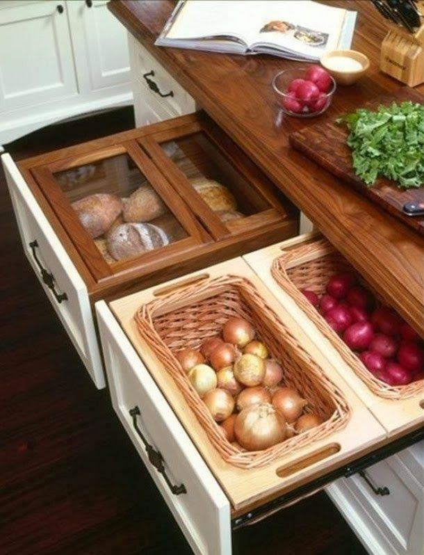 Tu Organizas.: Batata, Alho e Cebola. Como guardar? | Kitchens to ...
