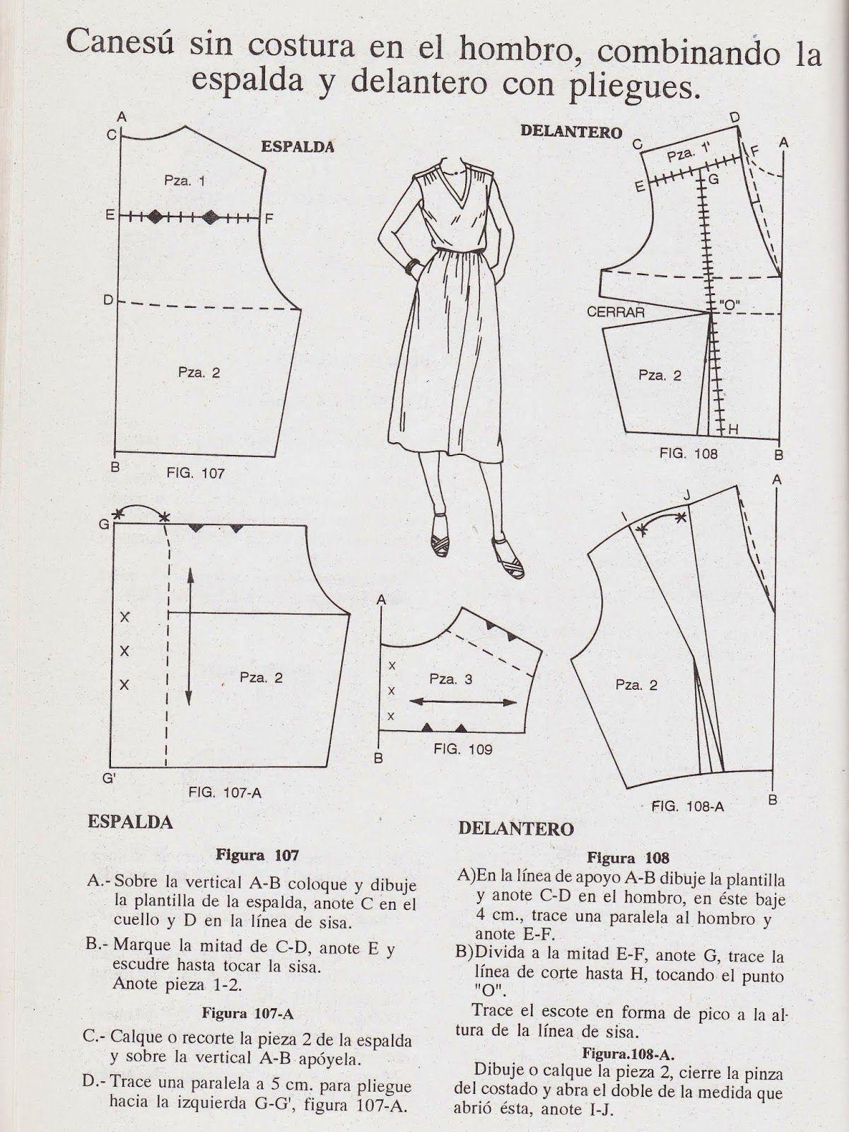 romi w: patrones | Patronaje | Pinterest | Patrones, Coser vestido y ...