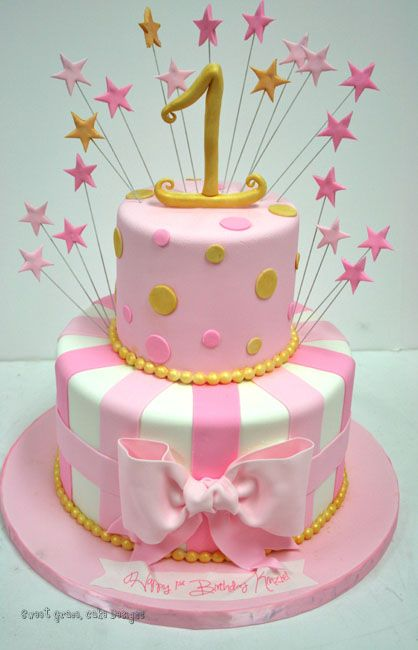 Fantastic First Birthday Cakes New Jersey Stars Custom Cakes Pastalar Funny Birthday Cards Online Elaedamsfinfo
