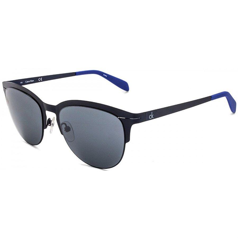 Óculos de Sol Calvin Klein Metal Azul Melhor Preço   Sun Glasses ... 32bb508816