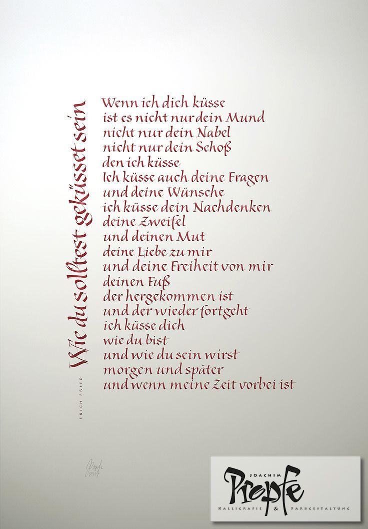 Liebesgedicht als Hochzeitsgeschenk #Hochzeit # ...