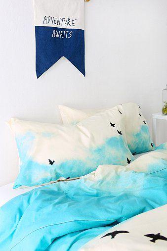 Shannon Clark For DENY Blue Skies Ahead Pillowcase - Set Of 2 $49.00