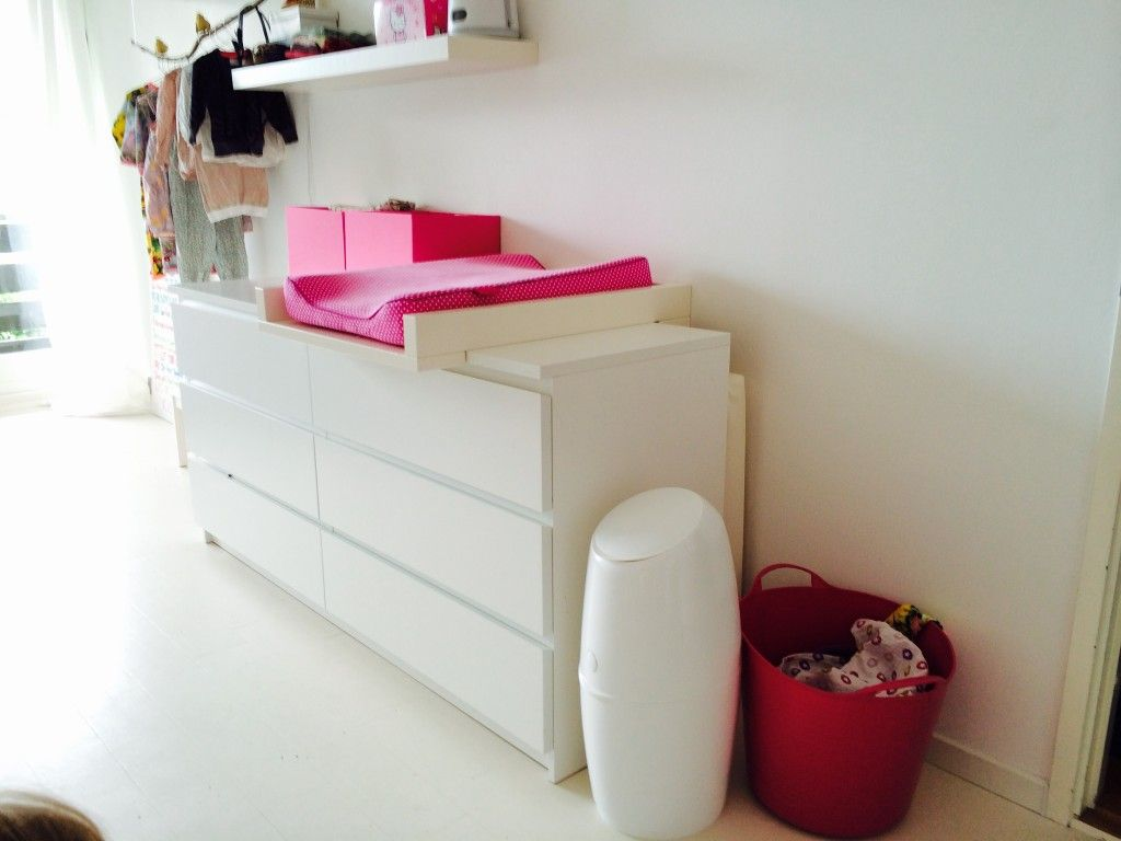 Malm Ladekast Als Commode.Puslebord Motherhood Parenting Family Baby Vaerelser