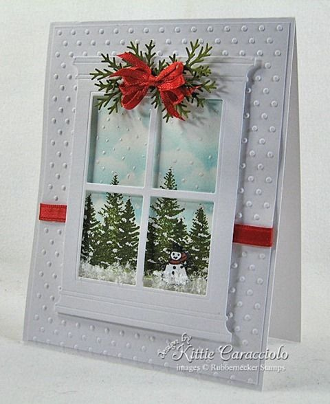 сожалению, новогодняя открытка окно с пошаговой фотографией его