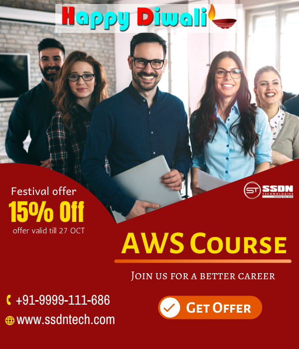 Enjoy Diwali Special Offer On Aws Course Training In Delhi