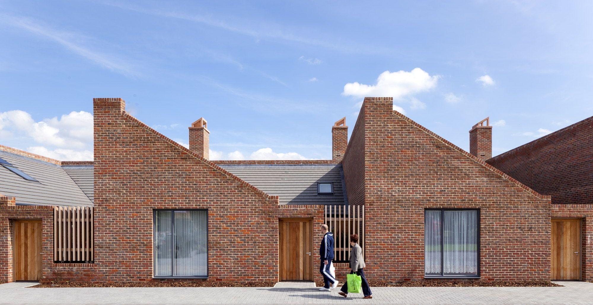 Spießig Englisch mit backstein und kamin englische mini reihenhäuser architekten