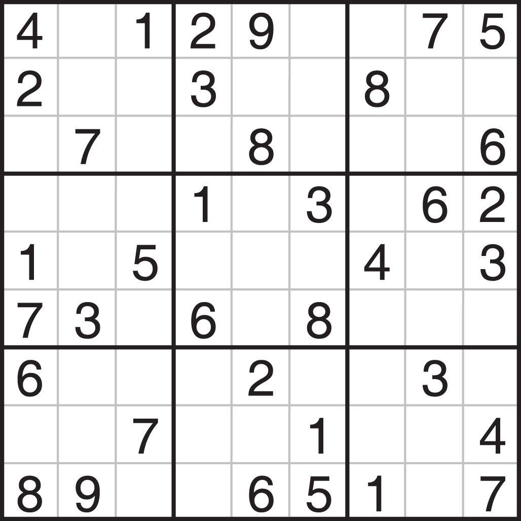 Sudoku Printables Easy For Beginners