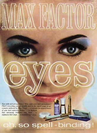 Max Factor 60s Oh So Spell Binding With Images Vintage