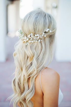 Half Up Half Down Wedding Hairstyles Ideas ❤ See more: http://www ...