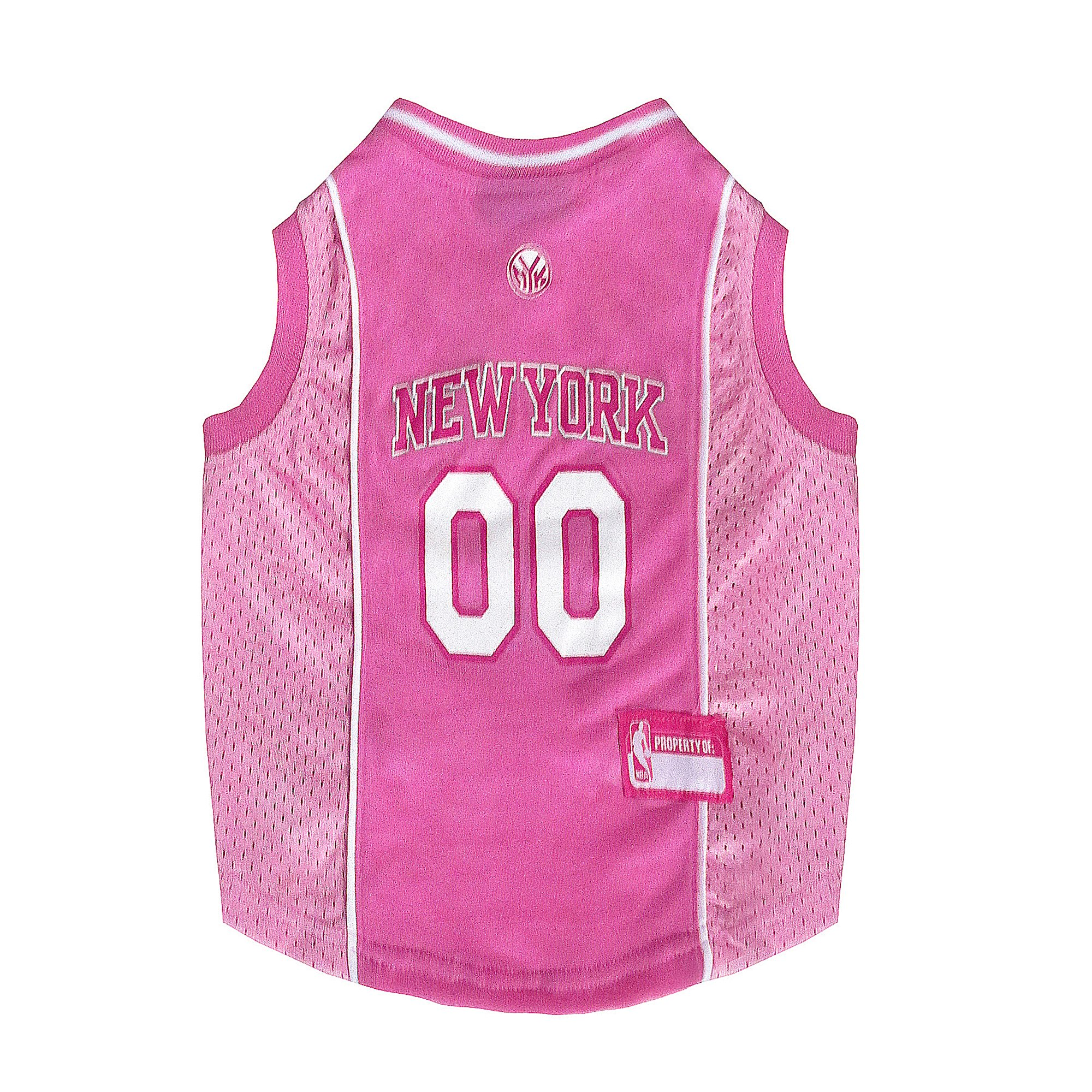 Pets First New York Knicks Nba Pink Jersey For Dogs Small Nba New York New York Knicks Pink Dog