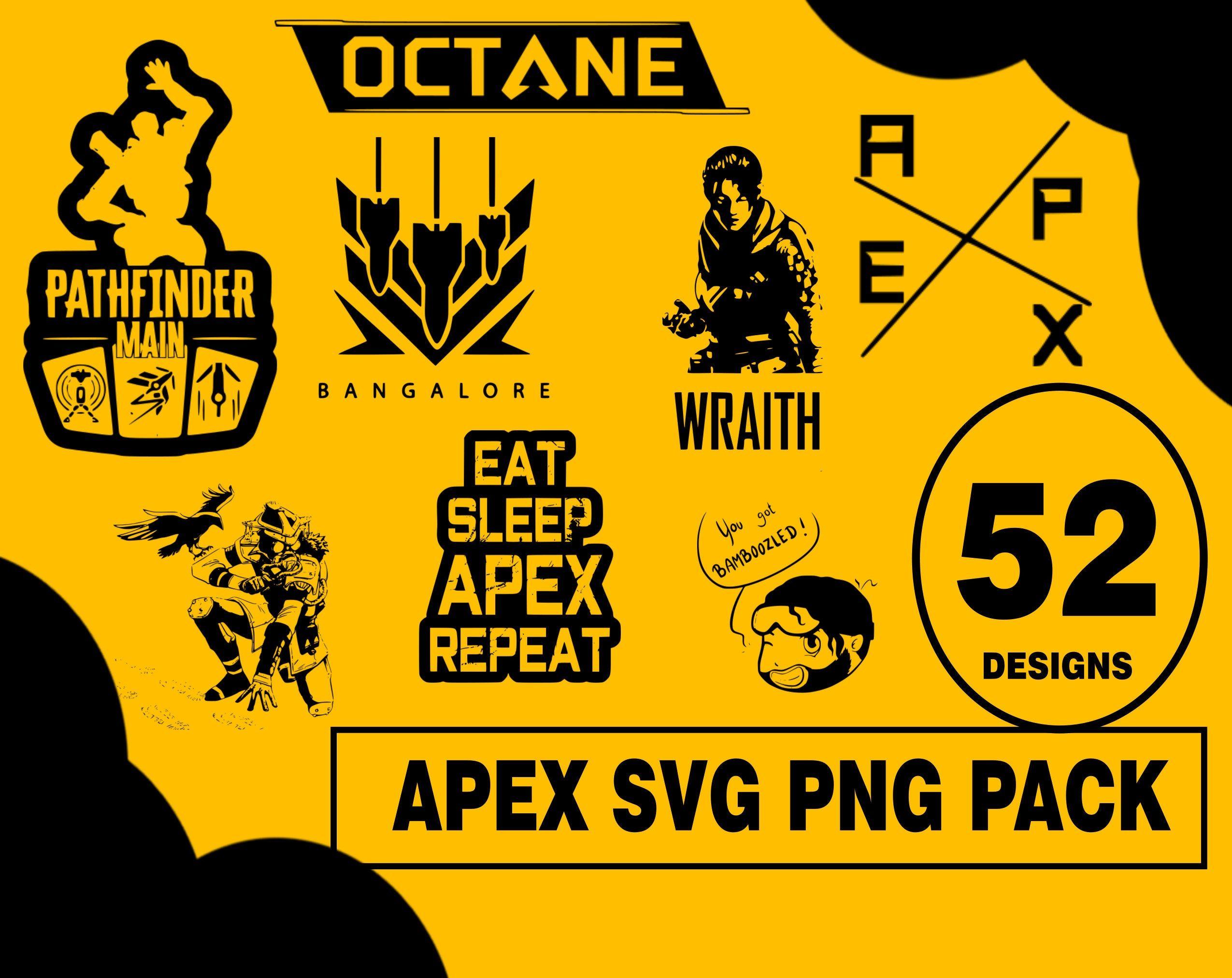 Apex Legends Svg Png Pack Apex Game Apex Design Pack Apex Legend Game Apex Video Game Apex Legends Video Game Svg Png Apex Vector Sv Apex Design Svg Apex
