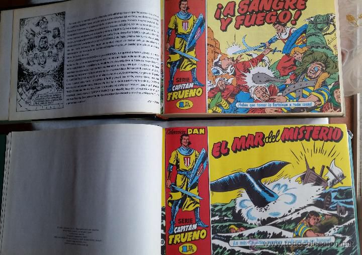 EL CAPITAN TRUENO EDICIONES B; TOMO 1 Y 2