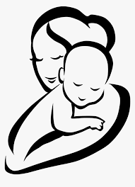 Mother Child Infant Clip Art Mother And Baby Clipart Png Transparent Png Transparent Png Image Pngitem In 2021 Mother Art Mothers Day Drawings Baby Sketch