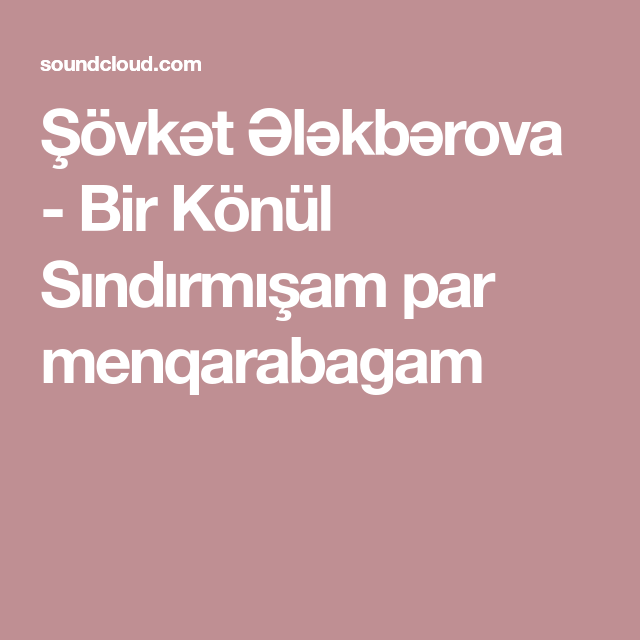 Resultats De Recherche Pour Sovkat Alakbarova Sovkət ələkbərova Listening To Music Music Listening
