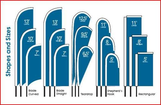 custom feather flags - Custom Feather Flags