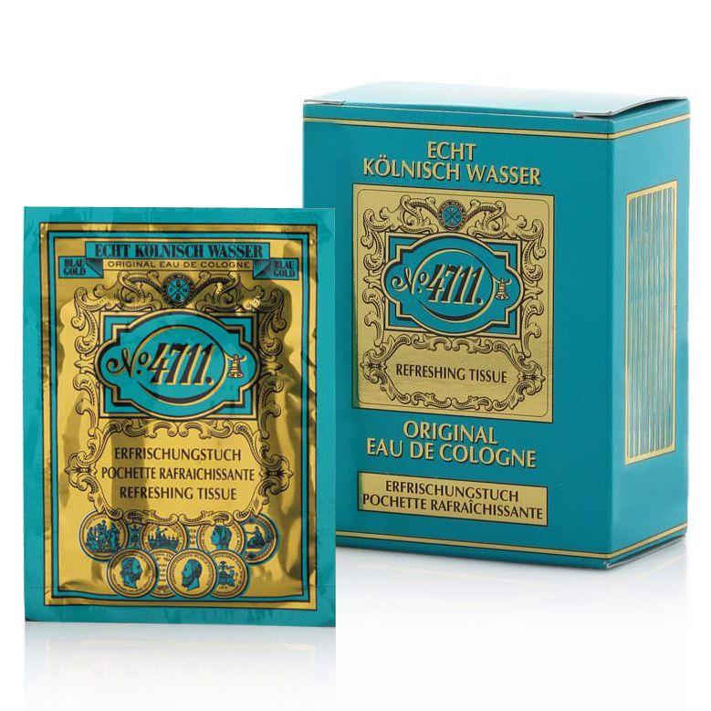 No 4711 Refreshing Tissues For Men 9 00 Lingette Savon Au