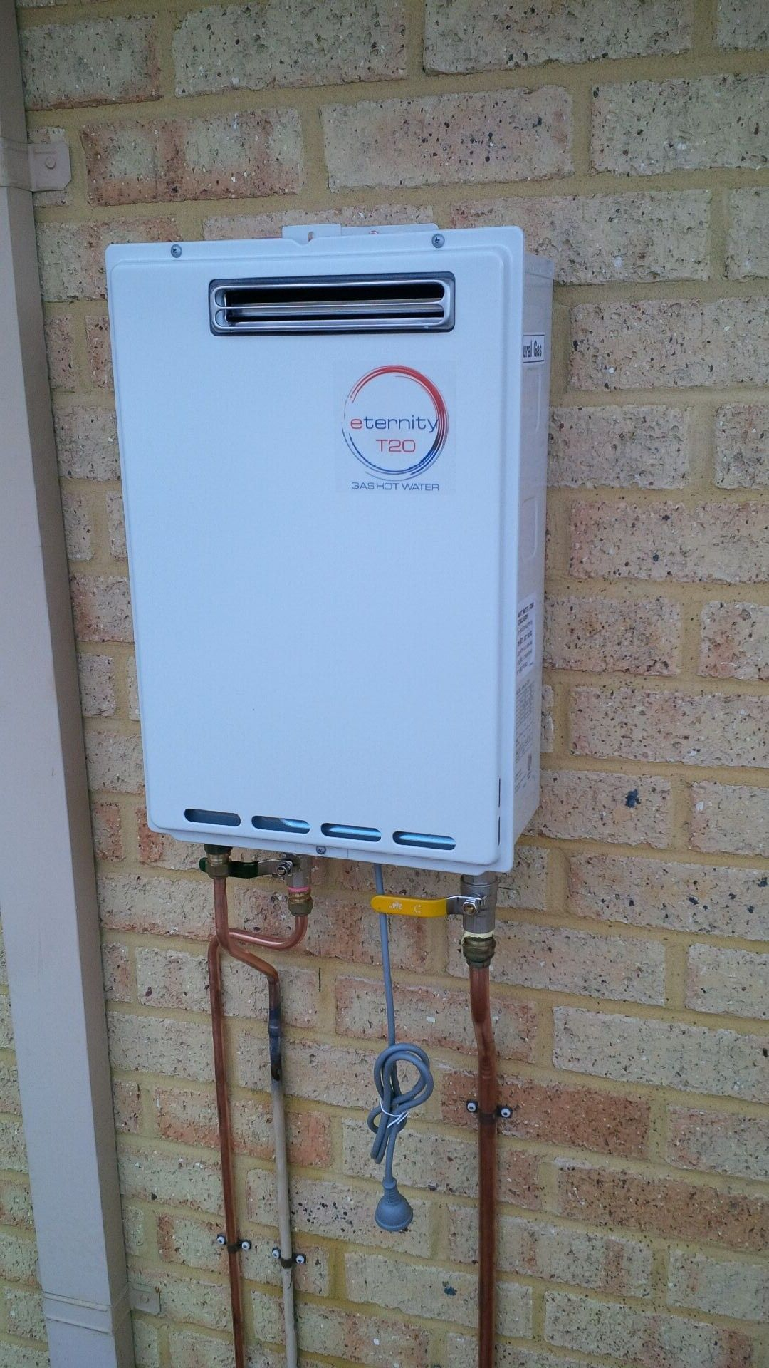 Installed Hot Water Unit
