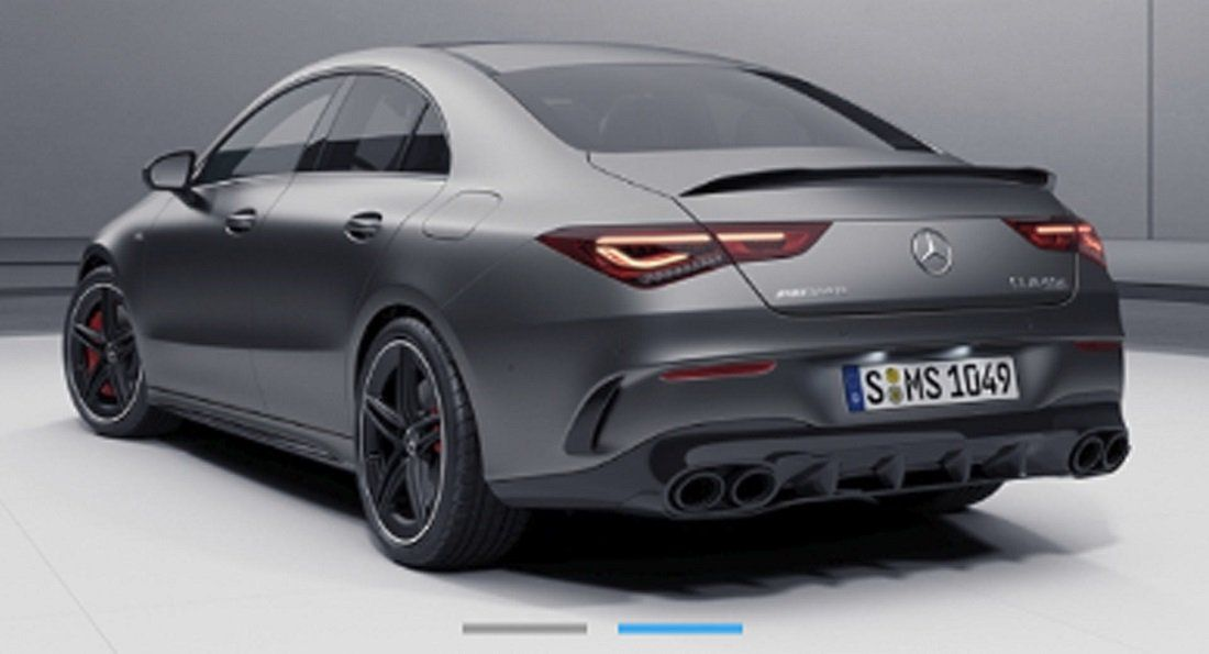 Possible Surfaces On The 2020 Mercedes Amg Cla45 German