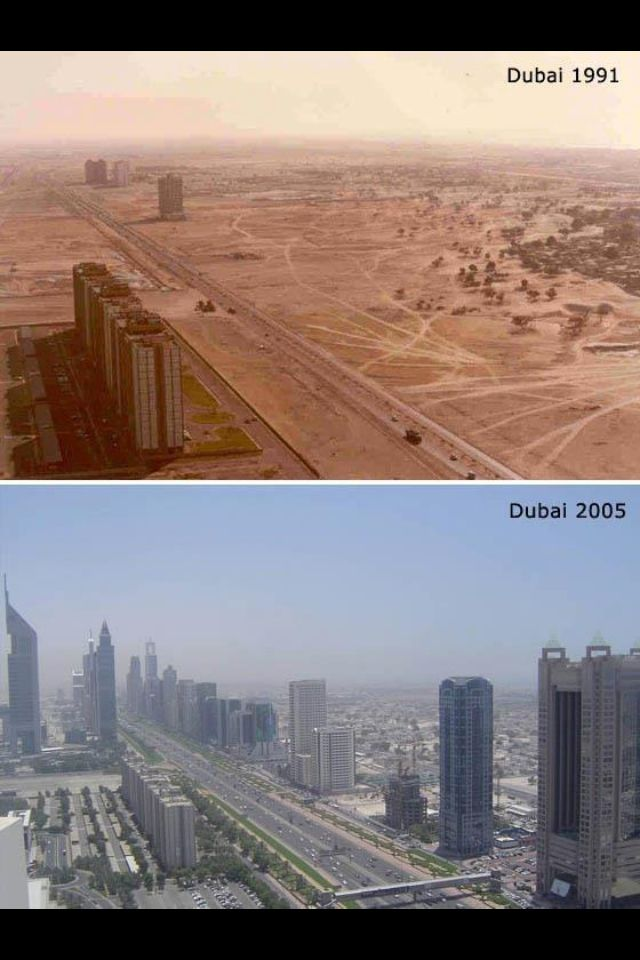 Dubai Over The Years