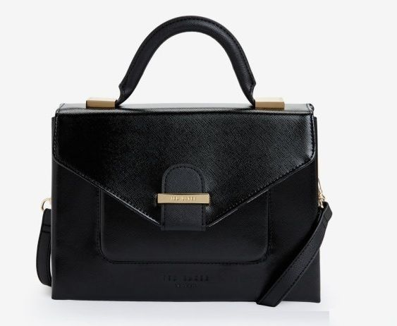 Ted Baker LILYANA Faux Leather Bag - Luxury Vegan Handbag - Vegan Handbags  - Designer vegan bags 79e92819cc689