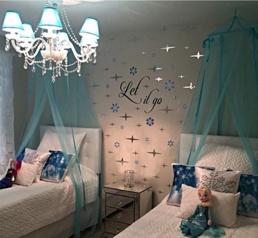 Cool 20 Lovely Frozen Themed Room Decor Ideas Your Kids Will Love Https Gardenmagz Com 20 Lovely Frozen Them Frozen Girls Room Frozen Bedroom Bedroom Themes