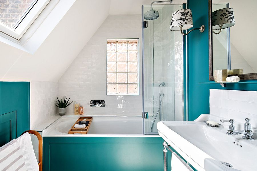 25 Cool Bathroom Color Trends for Summer and Beyond ...