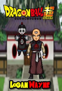 Tien Shinhan And Chiaotzu By Https Www Deviantart Com Loganwaynee On Deviantart Pixel Art Fan Art Animation